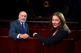 Pioneer Theatre Company's managing director Chris Lino and artistic director Karen Azenberg.