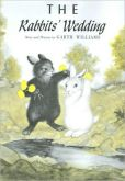 """The cover of Garth Williams's 1958 picture book """"The Rabbits' Wedding."""""""