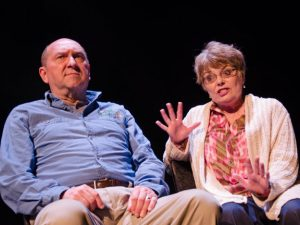 """Joel Hatch and Kristine Thatcher in """"The Tin Woman."""""""