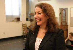 Director-choreographer Karen Azenberg, artistic director of Pioneer Theatre Company.