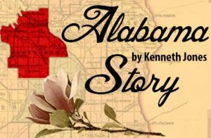 "Show art for Florida Studio Theatre's upcoming production of ""Alabama Story."""