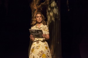 "Rachel Moulton in FST's ""Alabama Story."" (Photo by Matthew Holler)"