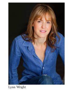 "Lynn Wright is TV actress Jane in ""Hollywood, Nebraska."""