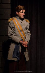 """Daniel Stewart as Prince Leopold in """"Alice Formerly of Wonderland."""" (Photo by H Michael Roberts)"""