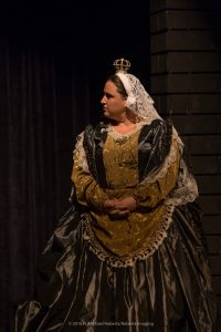 Hannah Hammond as Queen Victoria. (Photo by H Michael Roberts)