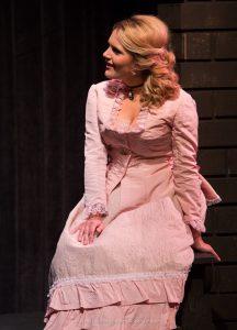 Jenny Case as Alice Liddell. (Photo by H Michael Roberts)