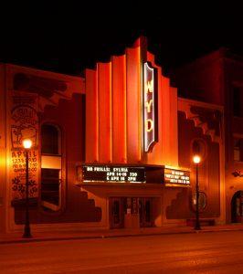 The WYO Theater in Sheridan, WY.