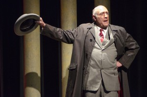 Daniel Jaroslaw as Sen. Higgins in the Detroit production.