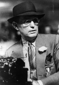 American author and journalist, Damon Alfred Runyon (1884 - 1946). (Photo by Keystone/Getty Images)