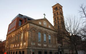 Judson Memorial Church in Greenwich Village.