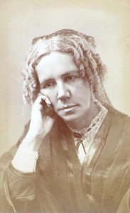 """An 1872 photo of Vassar astronomy professor Maria Mitchell, the inspiration for a character in """"The Resolute."""" (Vassar Digital Library)"""