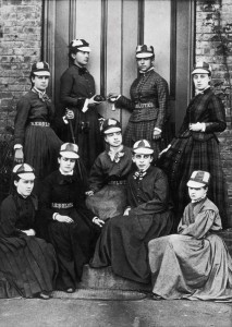 An 1876 photo of the Vassar Resolutes. (Vassar Special Collections)