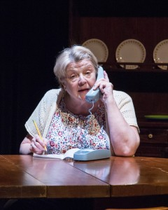 "Nora Chester in the developmental production of ""Hollywood, Nebraska"" at Wyoming Theater Festival."