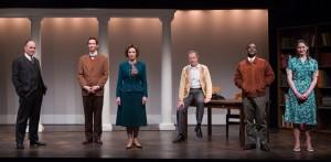 "The Washington Stage Guild company of ""Alabama Story."""
